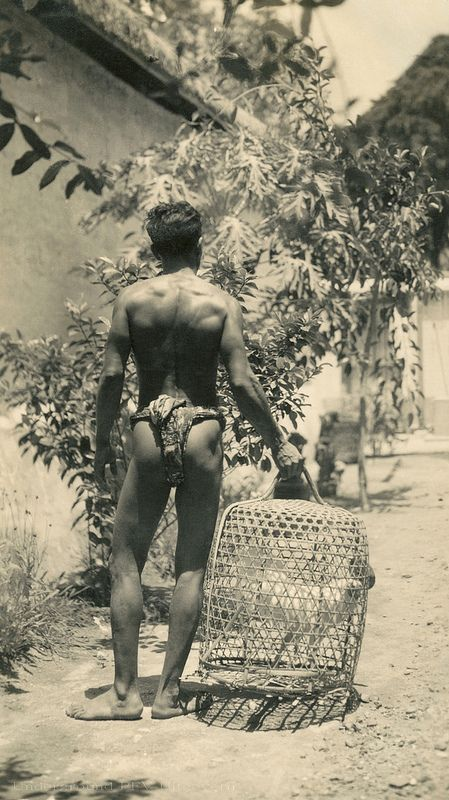 Balinese man with guwungan   by Underground PFV Uitgeverij