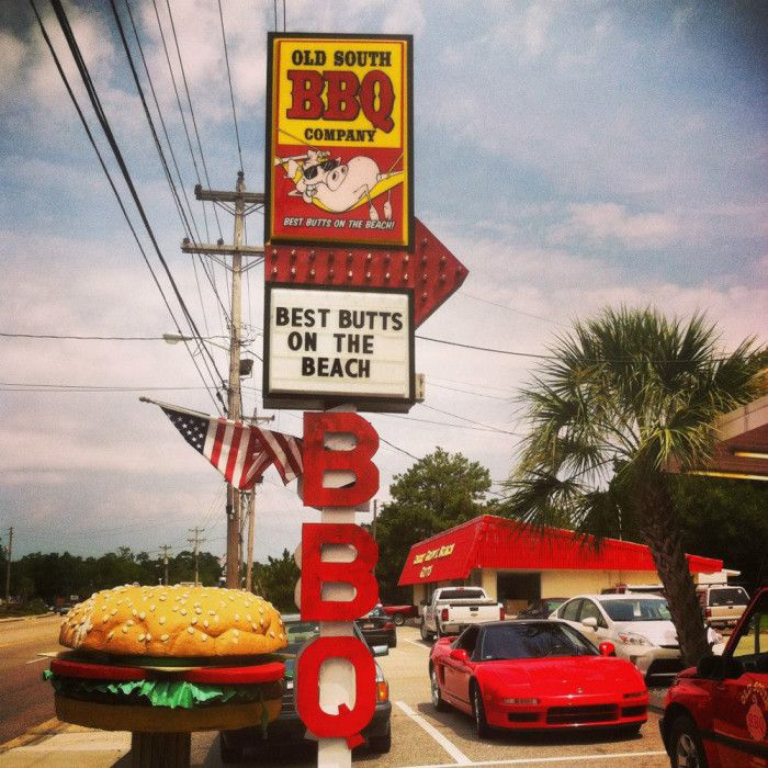 1. Old South BBQ - 1020 Sea Mountain Hwy, North Myrtle Beach