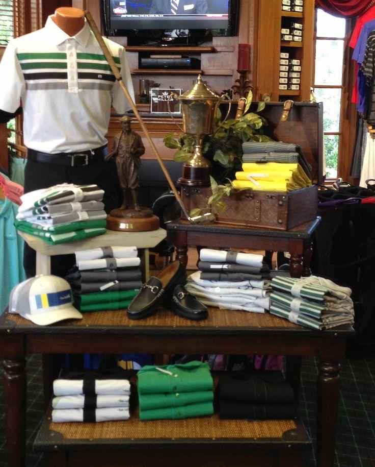 111 best golf shop merchandising images on pinterest. Black Bedroom Furniture Sets. Home Design Ideas