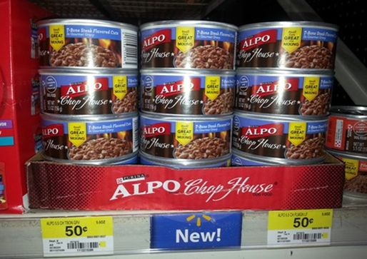BOGO FREE Alpo Dog Food is $.25 bEach at Walmart!  http://www.groceryshopforfreeatthemart.com/bogo-free-alpo-dog-food-is-25-beach-at-walmart/