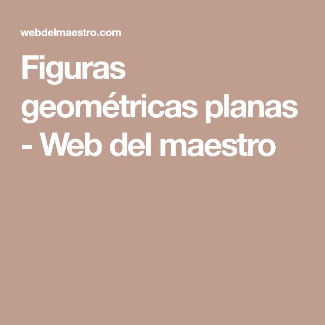 Figuras geométricas planas - Web del maestro