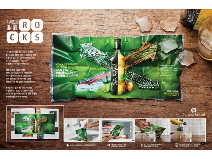 Anúncio Criativo Montilla - Agência NBS - Direção de arte: Daniel Scheiner