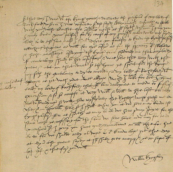 Letter of Sir William Kyngston, Constable of the Tower, to Lord Secretary Thomas Cromwell on the preparations for the executions of Queen Anne Boleyn and her brother, George Boleyn, Lord Rochford.