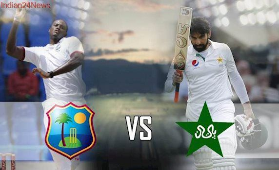 Live Cricket Score, Pakistan vs West Indies 1st Test Day 1: Pakistan pick early wicket against West Indies in Kingston
