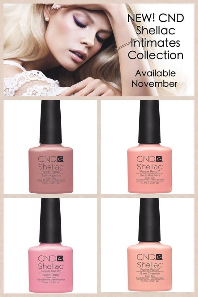 CND ntimates collection