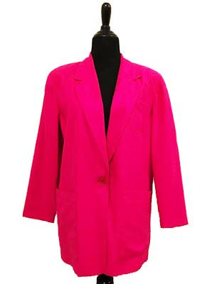 On The Shop: SK and Company Vintage 1980s Hot Pink Blazer #kltvr   #vintageblazer #vintagejacket #1980svintage #80svintage #80sstyle #1980sstyle #etsyvintage #vintageetsy #etsyvintageshop #vintageetsyshop #autumnfashion #autumnstyle #fallfashion #1980sblazer #80sblazer #90sblazer #90sfashion #80sfashion