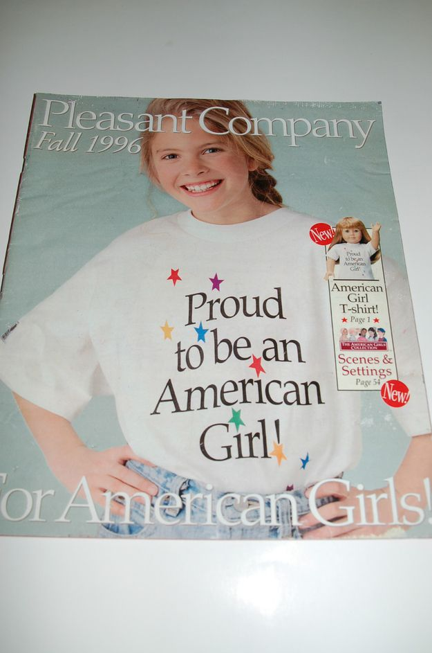 Fall 1996 | 10 American Girl Doll Catalogs From Your Past