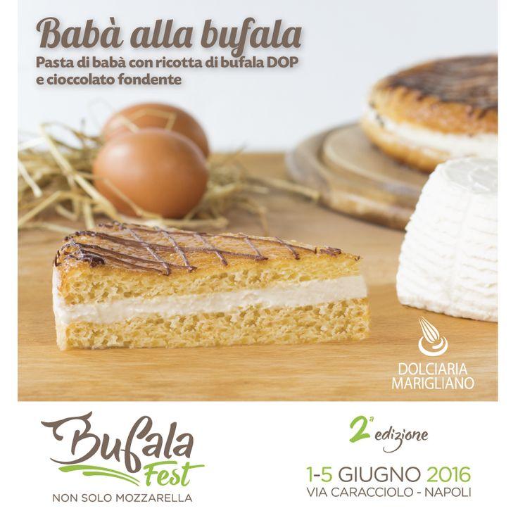 Ci vediamo a partire da Domani sera al Bufala Fest Napoli! Il Babà alla Bufala è soltanto una delle specialità a base di Bufala che il nostro Chef Alessandro Marigliano ha preparato per voi!