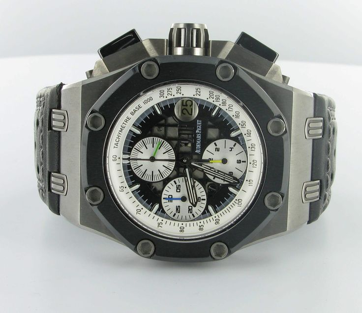 #Buy #Pre-owned (Second Hand) Audemars Piguet Barrichello II Titanium Reference No: 26078IO.OO.D001VS.01 watch on #Discounted price. Compare and save. Visit lxspy.co.uk