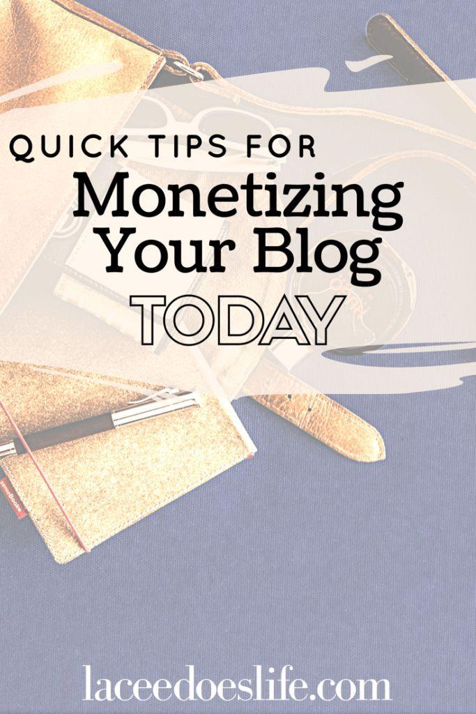Monetize Your Blog   Money Making Tips   Strategic Blogging   Blog   Profitable Blog   Profit   Tips   How-To Use Affiliate Marketing  