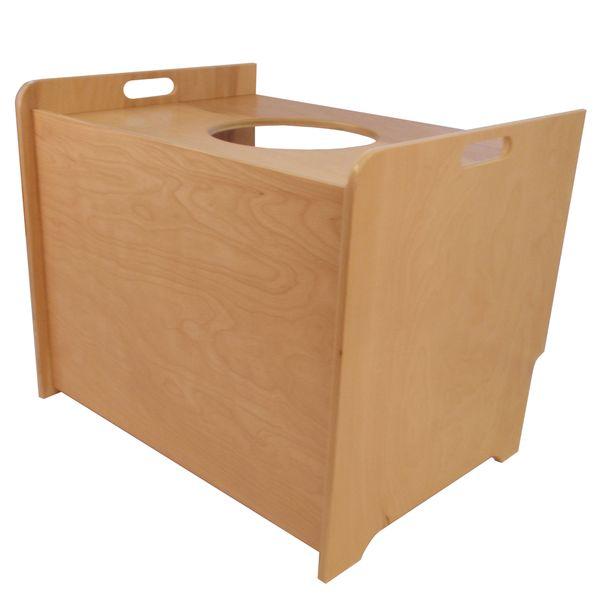 Scandinavian-Style Litter Box Concealer