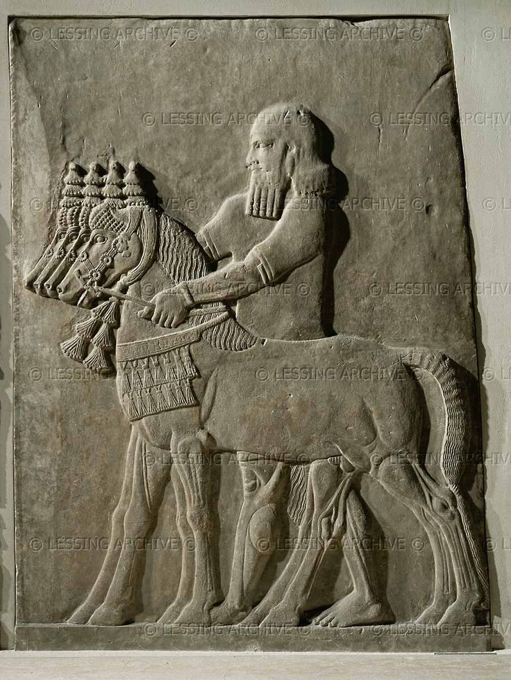 Alabaster bas relief BCE from the palace of