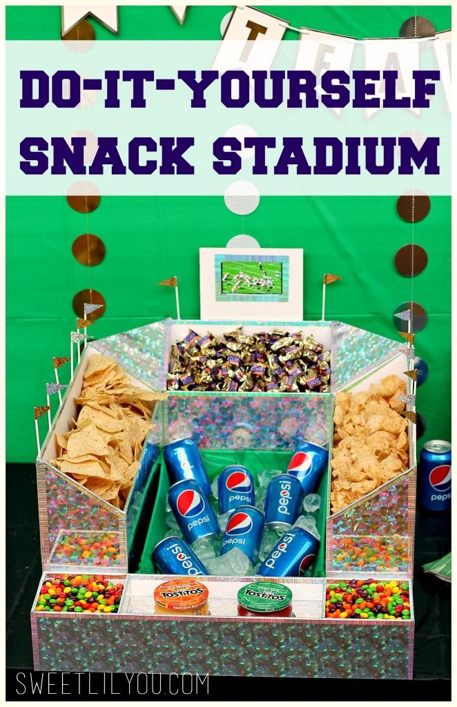48 best snack stadium ideas images on pinterest big game diy check out our diy snack stadium were even live streaming the game right solutioingenieria Gallery