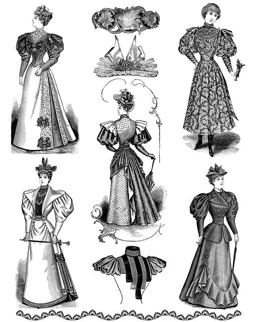 Kostenloses Bild auf Pixabay - Jahrgang, Dame, Mode, Collage, Hut