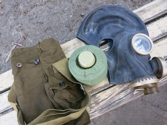 $7,90 Soviet Russian Gas Mask Made in USSR size от AllForHappyAndLoveV