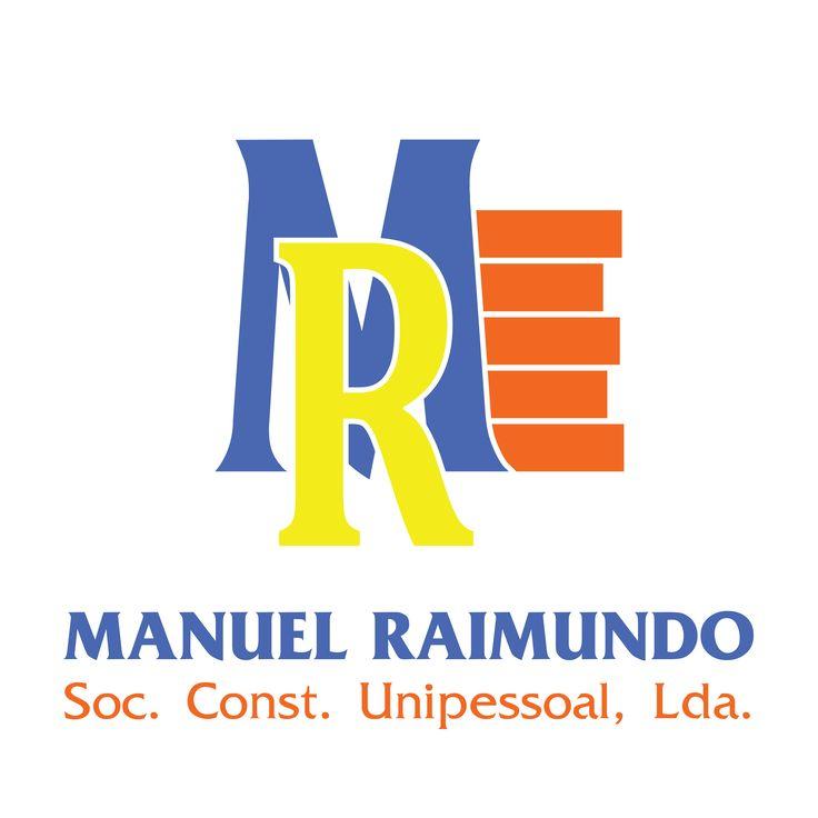 Novo Logotipo da empresa de construção Manuel Raimundo