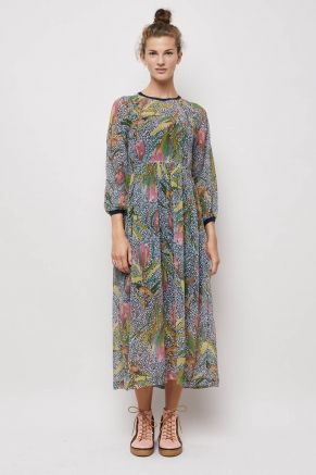 Come And Go Long Dress