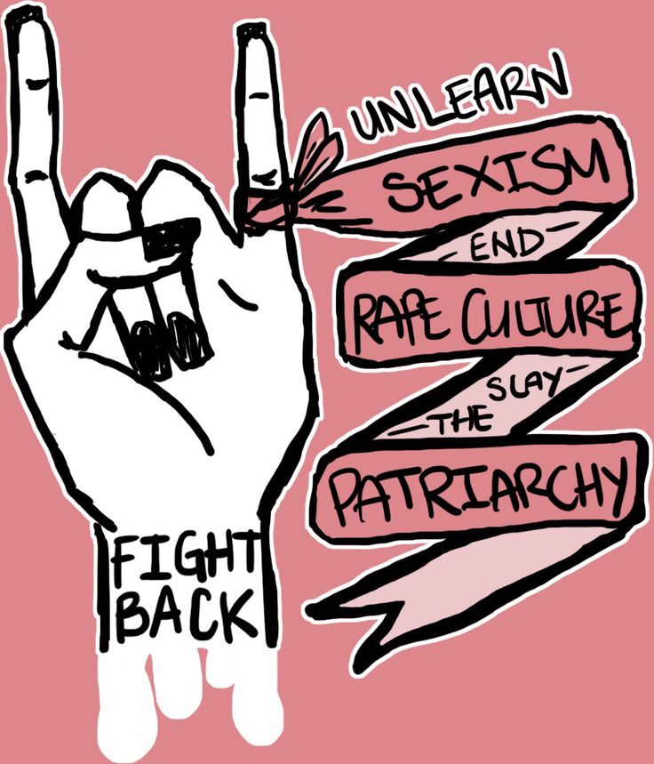 You don't have to be a feminist. I'm not a feminist I just stand up for what is right.