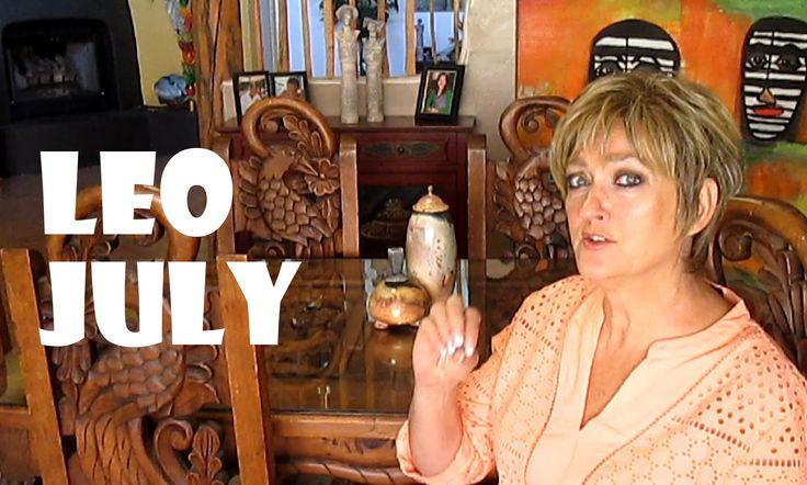 LEO July ASTROLOGY 2015 - Karen Lustrup - - A Cosmic Kiss