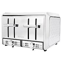 Elements 4 Slice Toaster White