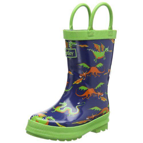 Hatley Boys Rainboots Dragons - Cute Rain Boots for Kids