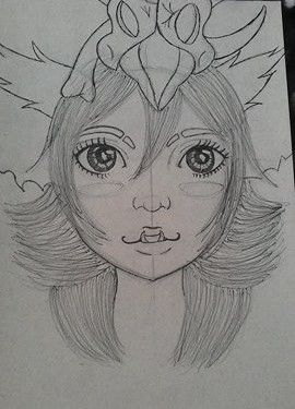 league od legends Gnar girl fan art