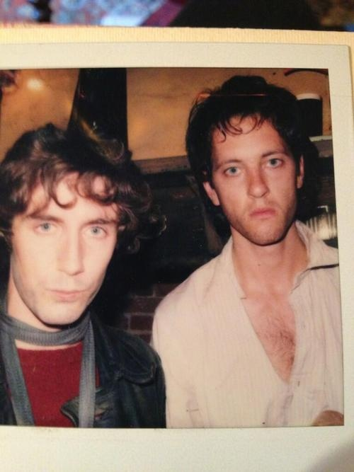 Paul McGann and Richard E. Grant (the Eighth Doctor and the other, other Ninth Doctor).