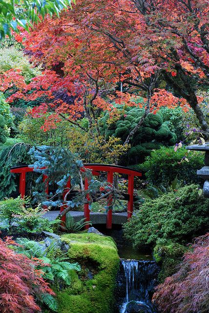 Butchart Gardens, Victoria, British Columbia, Canada.
