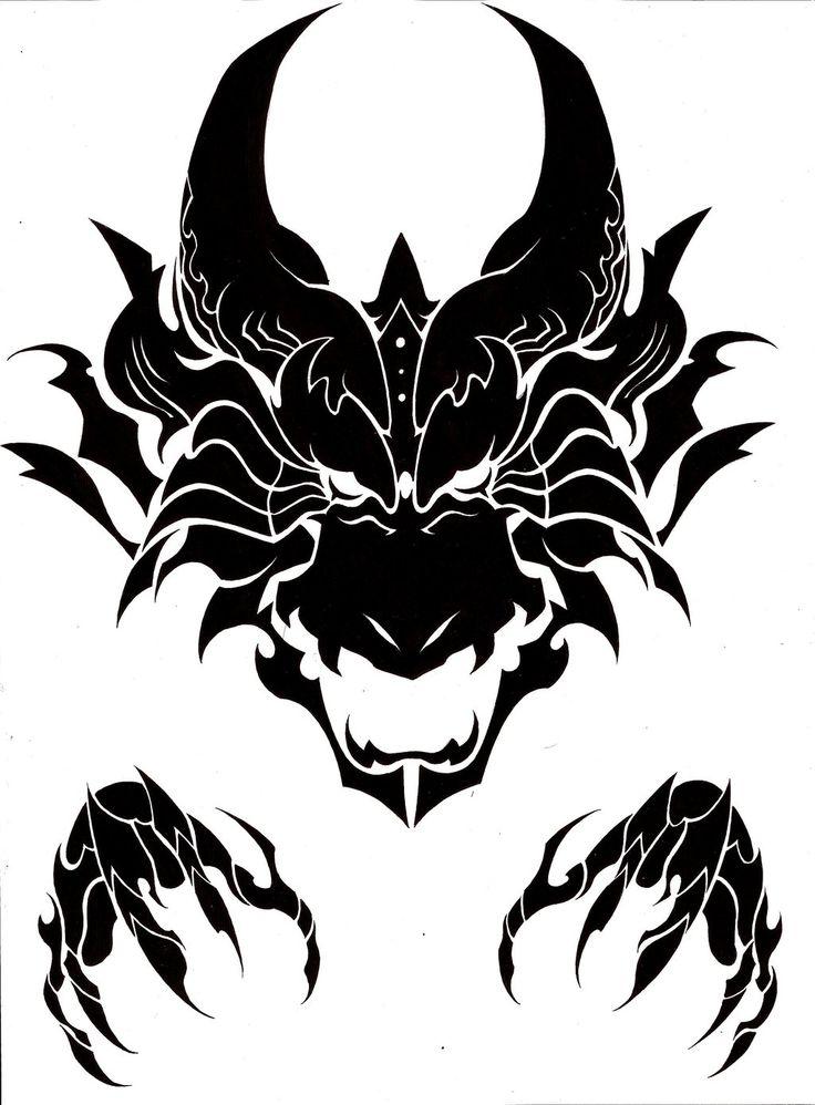 Dragon facial tattoo, ellen page sexy porn