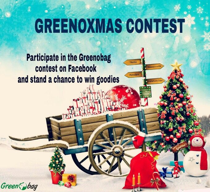 Have you participated yet? Hurry #GREENOXMAS #contest open only till 26th. Don't miss out on the opportunity. #GreenoBag