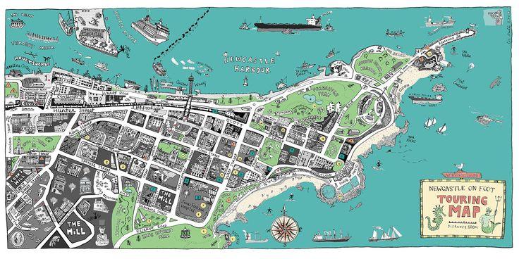 Liz Anelli Illustration | East End Map