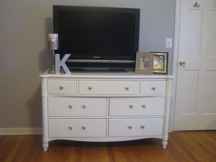 Saved from the dump, @MicheleKulesa picked this dresser up and gave it a second chance at life. For about $16 this dresser went from drab to fab! http://www.rustoleum.com/product-catalog/consumer-brands/universal/universal-metallic-spray-paint