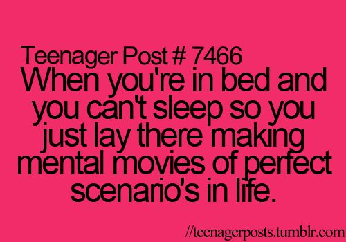 I do that all the time! It's like a permanent part of my pre-sleep ritual! ;p