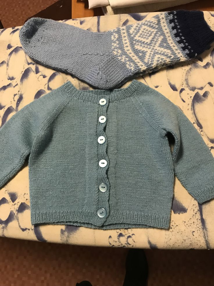 Babyjakke Mariussokker