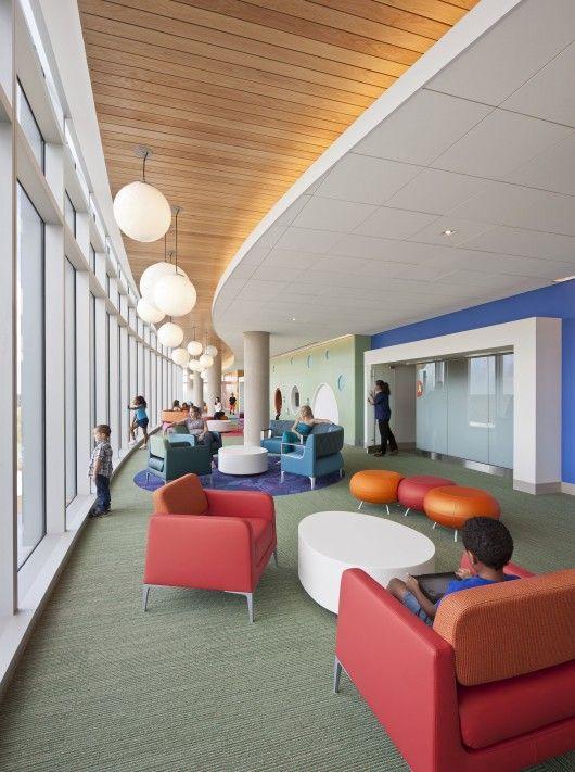 Healthcare Nemours Children's Hospital Healthcare Design, Orlando, FL, USA #healthcare