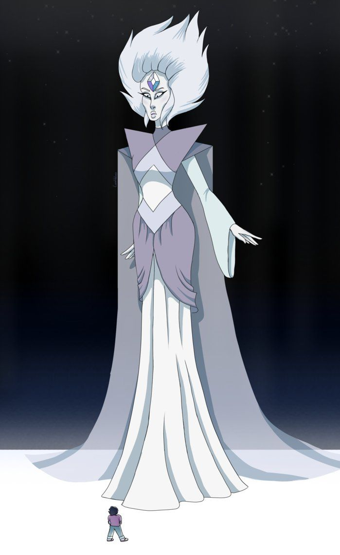 White Diamond- Steven Universe by LaniWolves.deviantart.com on @DeviantArt