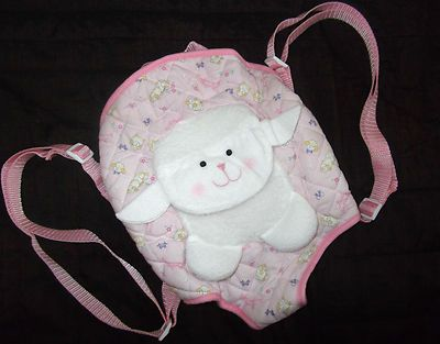 Baby Annabell Lamb Doll Carrier Papoose Sling Zapf Doll