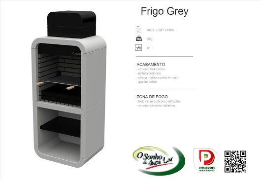 Churrasqueira Modelo  FRIGO GREY