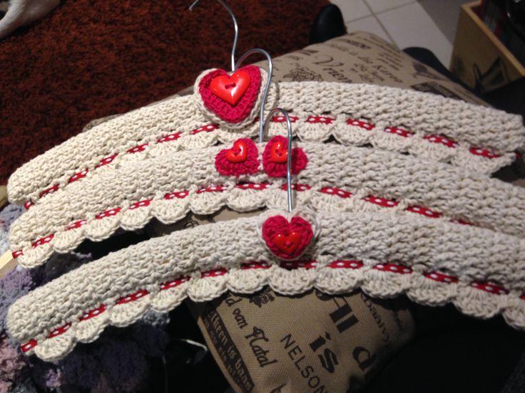 Crochet Clothes / Coat Hanger Cover