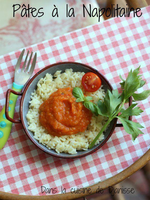 Ma sauce tomate napolitaine, dès 7 mois