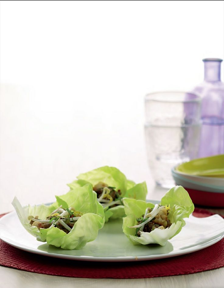 Turkey lettuce wraps recipe by Tiffiny Hall | Cooked
