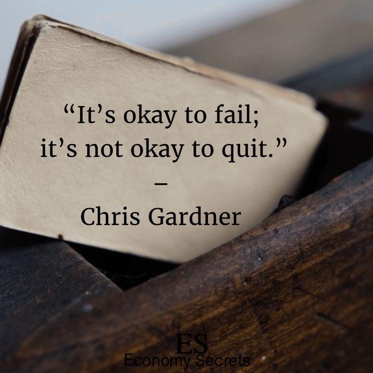 Superb Chris Gardner Quotes 22