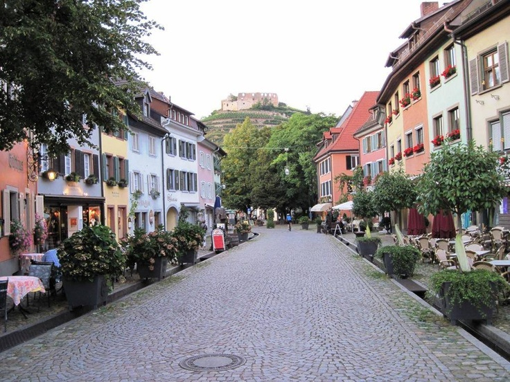 Staufen im Breisgau, Germany - cycled here and stayed at the Hotel Hirschen - a lovely medieval town in the Südschwarzwald.