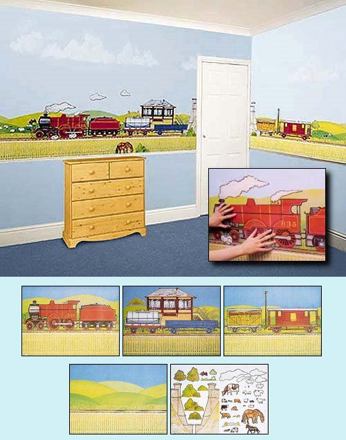 156 best Trains Planes And Trucks Wall Decals images on Pinterest