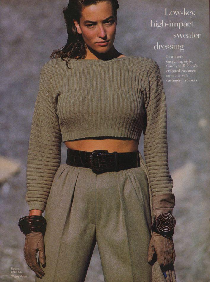 """US Vogue September 1986 """"New Mood..."""" U13260968021555400_4.jpg 708×950 pixels"""