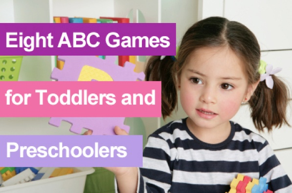 Teach letter recognition and get ready for Kindergarten with these games you can try at home.