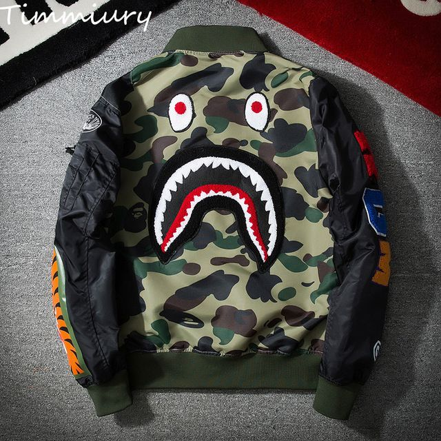 Fair price Timmiury 2017 Spring Men Bomber Camouflage Jackets New Military Windbreaker Print Veste Homme chaqueta hombre casaco masculino just only $29.41 with free shipping worldwide  #jacketscoatsformen Plese click on picture to see our special price for you