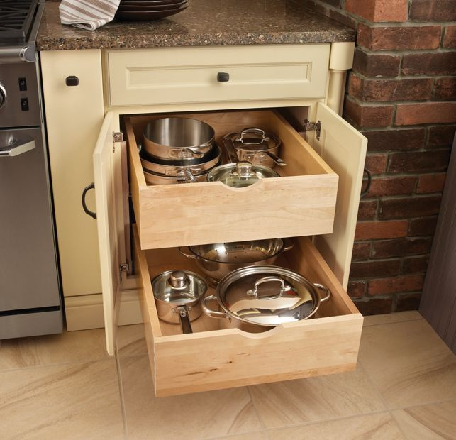 kitchen storage solutions for pots and pans pots and pans storage kitchens pan storage 9837