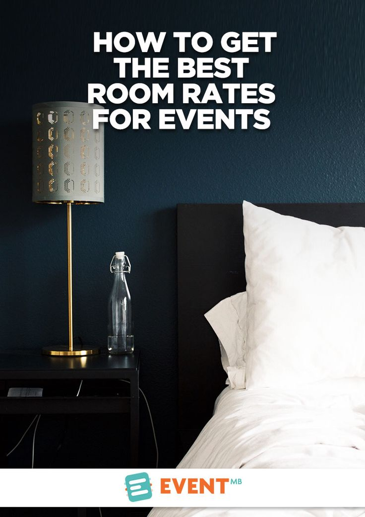 When an attendee is considering your event, they're looking at total travel cost. A cheap event ticket won't help if hotel rooms are the price of half of their weekly paycheck. Negotiating economical room rates is the difference between you selling out and choosing another host city next year, if you're still hosting the event.