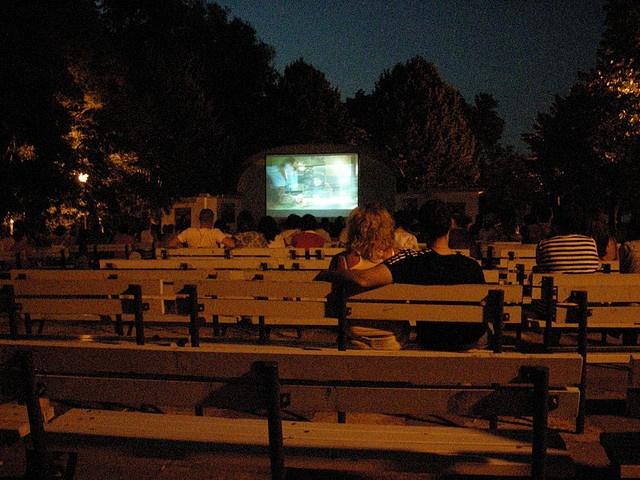 Cinema  all'aperto, Burgas